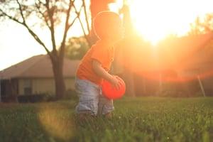 summer sun kid